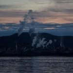 Utsikt mot Domsjö Fabriken