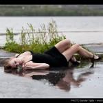 Photoshoot en regnig höstdag, 2011
