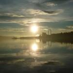 Utsikt från Örnsköldsviks hamn