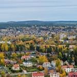 Panorama - Örnsköldsvik i höstfärger